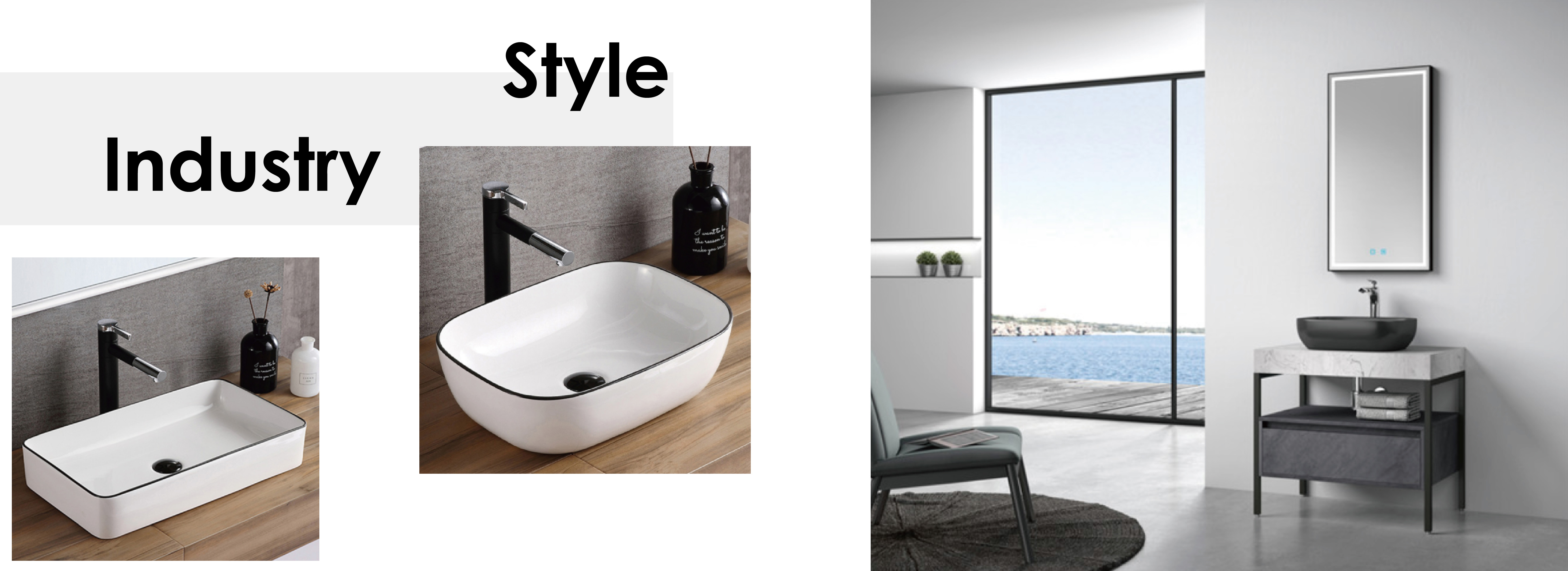 Industry Style Bathroom Cabinet-01