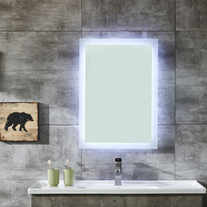 European Standard IP44 Bathroom LED Mirror with Light Backlit Touch Sensor And Bluetooth