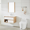 New Design white painting Modern Bathroom Cabinet with Basin Vanity Set