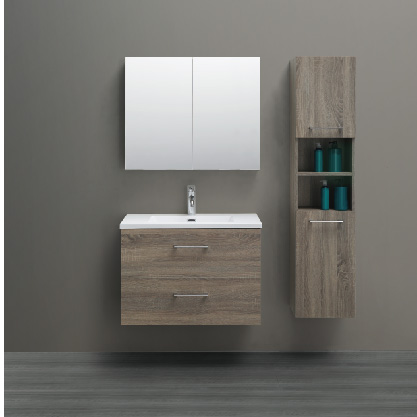 bathroom cabinet with mdf material and ceramic basin side cabinet mirror cabinet cabinet vanity