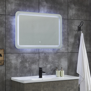 Industrial Furniture Bathroom Vanity LED Mirror Small