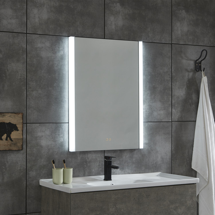 Popular Design Led Bath Mirror Silver Glass