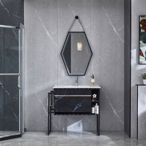 Black Bathroom Cabinets Wall Mounted Vanity