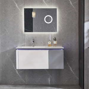 Bathroom Cabinets Wall Mounted Vanity With Sensor Light