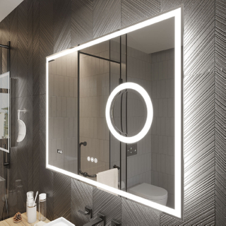 LED Mirror With Lights Rectangle Mirror Vanity Mirror